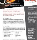 Plas-Tech Fabrications plastics brochure on plastic welding and vaccum forming.