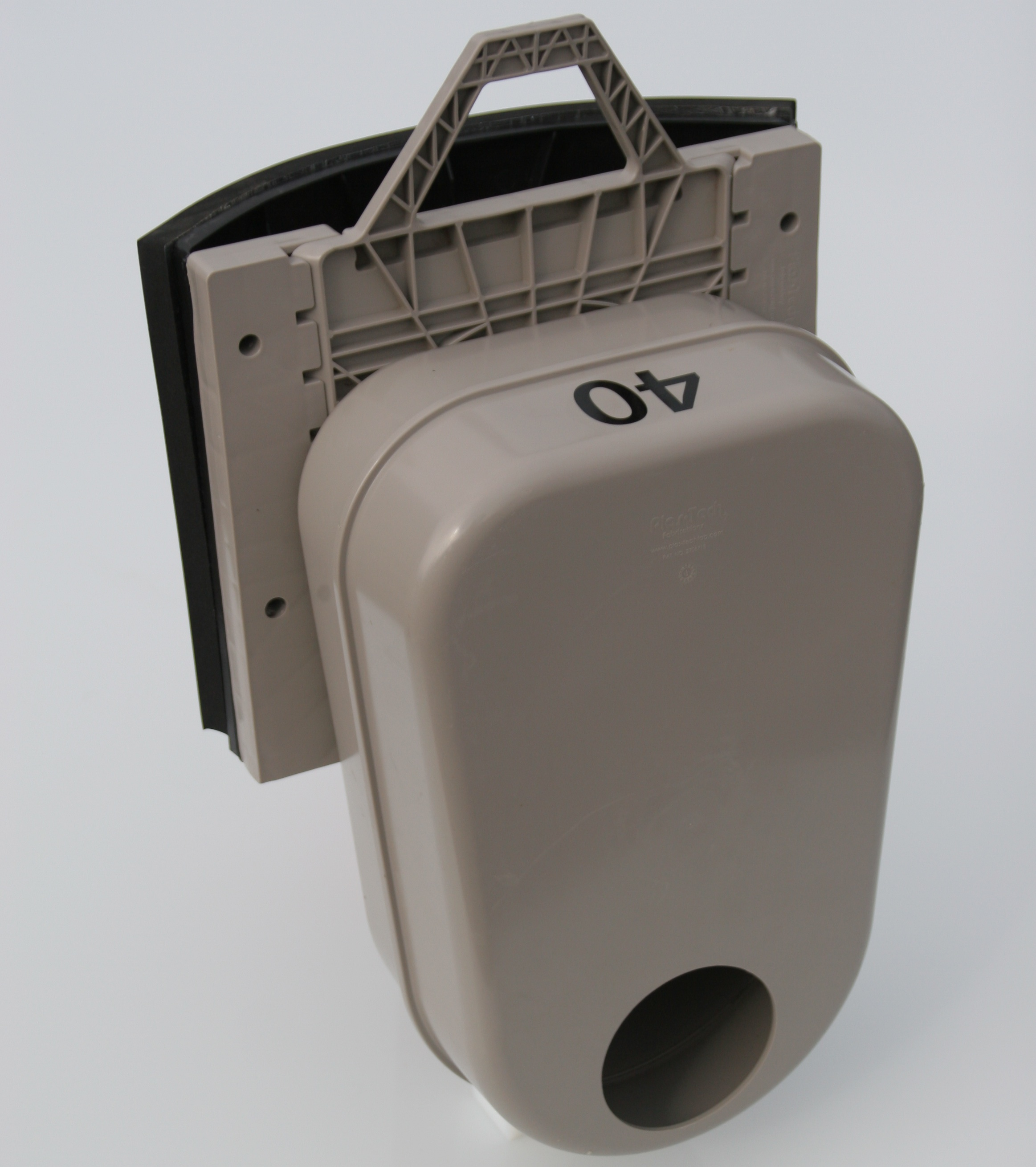 Odour Trap in Round Adapter – Angle