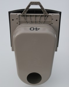 Odour Trap in Round Adapter - Front