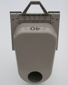 Odour Trap in Square Adapter - Front