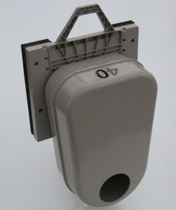 Odour Trap in Square Adapter - Left