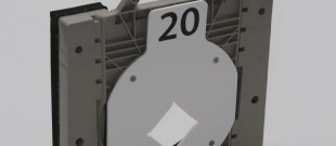 Orifice Plate in Square Adapter – Angle