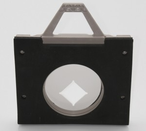 Orifice Plate in Square Adapter - Back