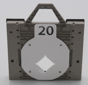 Orifice Plate in Square adapter - Front
