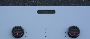Pro Shot – Large – Close-up of Handle & Holes