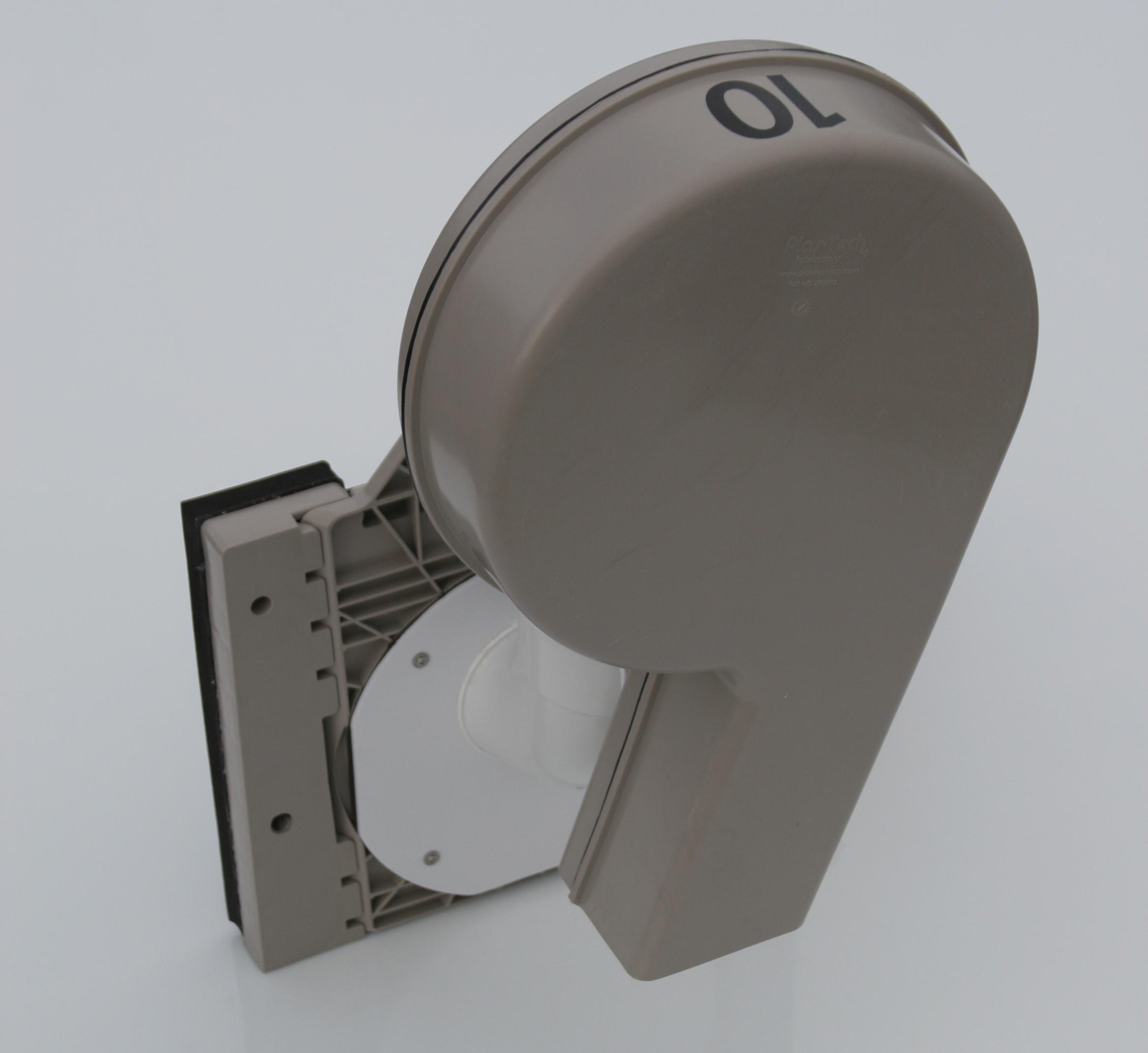 Shallow Sump Vortex in Square Adapter – Left