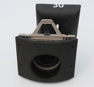 Shallow Sump in Round Adapter - Back