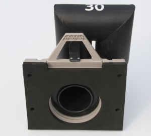 Shallow Sump in Square Adapter - Back