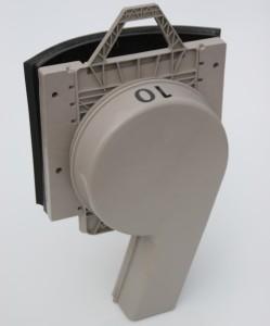 Vortex in Round Adapter - Left
