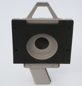 Vortex in Square Adapter - Back