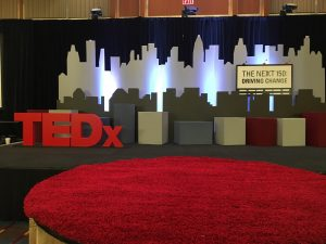 TEDx Backdrop